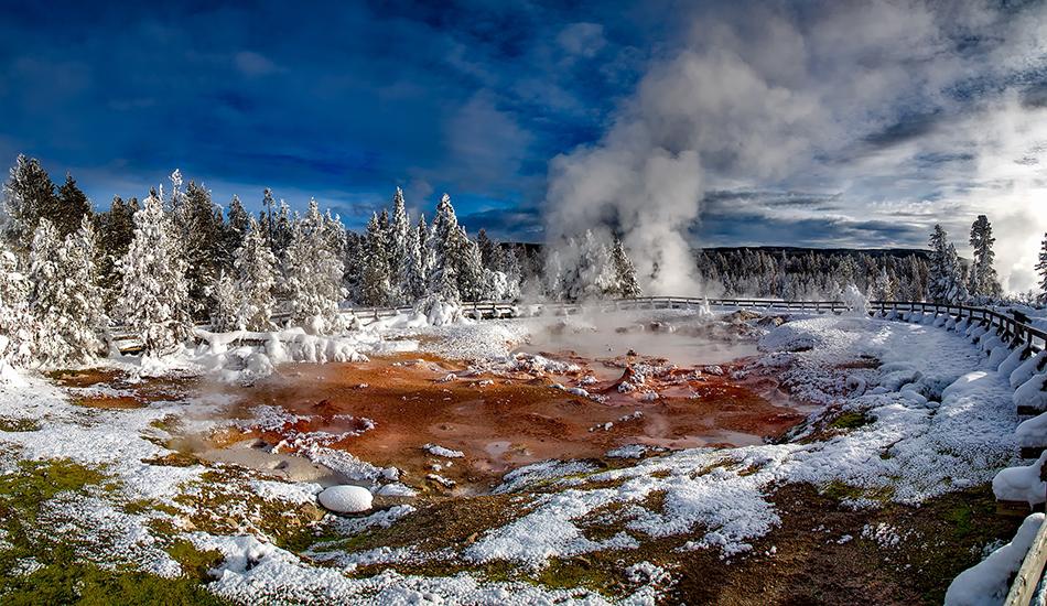 Un pack de sons ambiants gratuits mis à disposition par le Parc National de Yellowstone