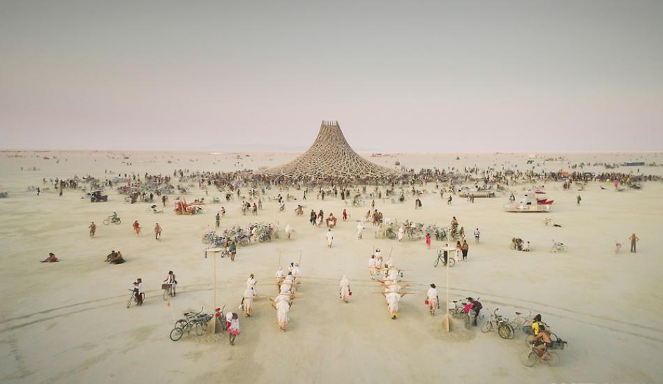 L'administration Trump veut construire un mur autour du Burning Man