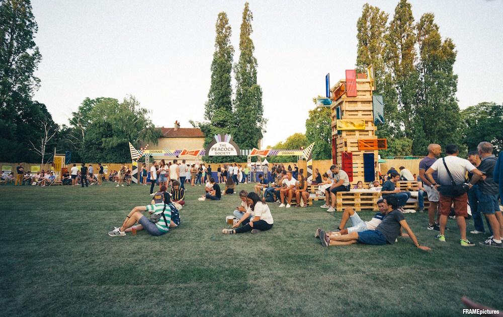 Terrasse du Peacock Society Festival 2019