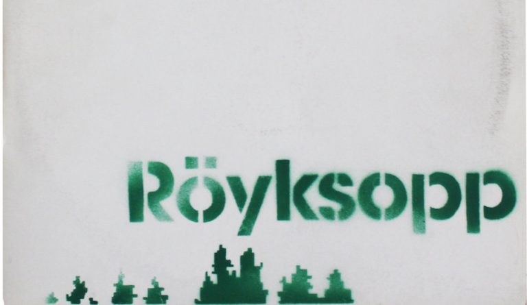 Cover du vinyle de Röyksopp peinte au spray par Banksy