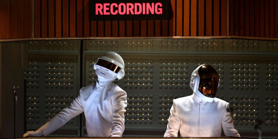 Apparemment, Daft Punk serait entré en studio