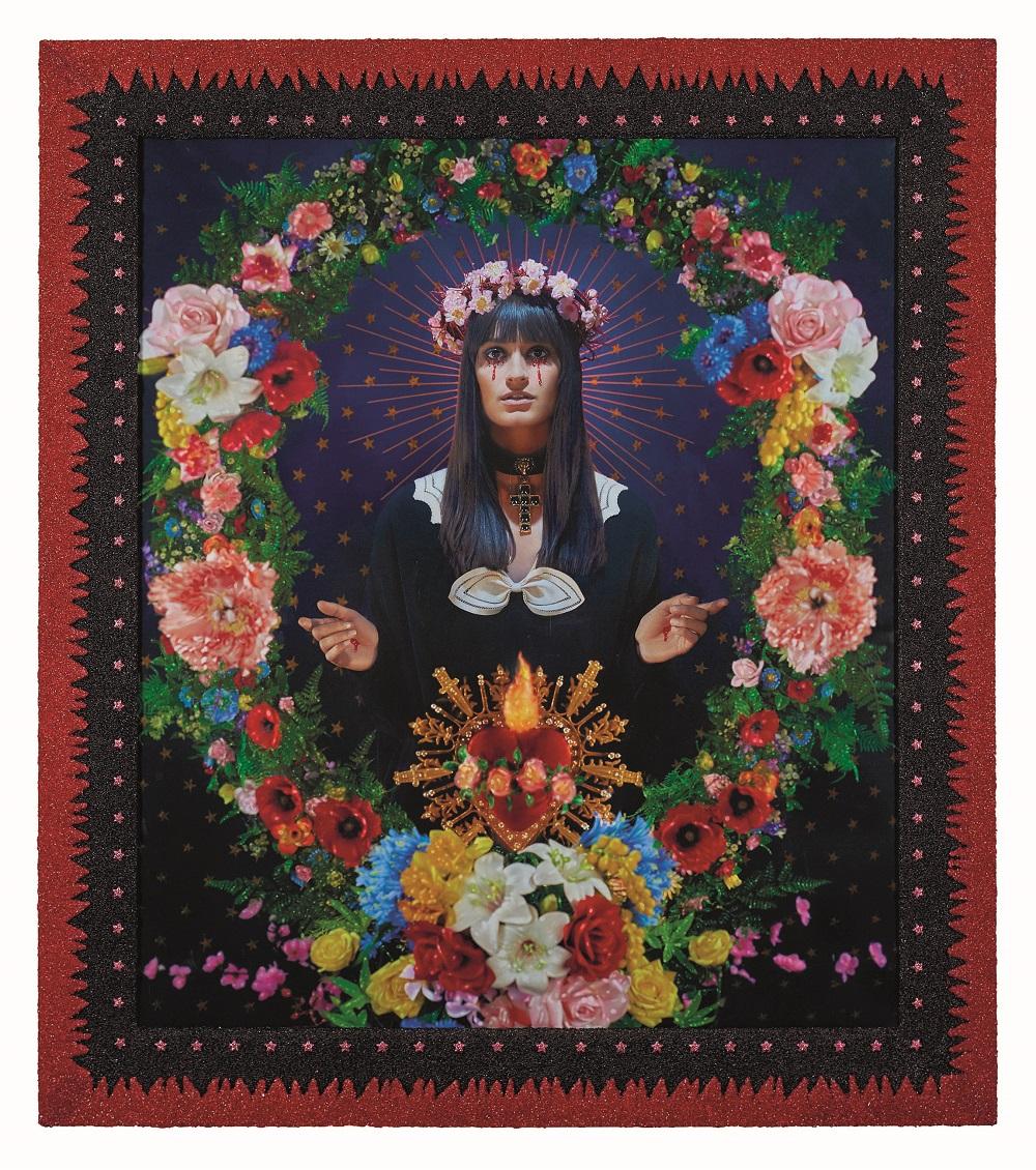 La Madone aux fleurs, Clara Luciani, Collection Pierre et Gilles, Courtesy Galerie Templon, Paris-Brussels ©Pierre et Gilles