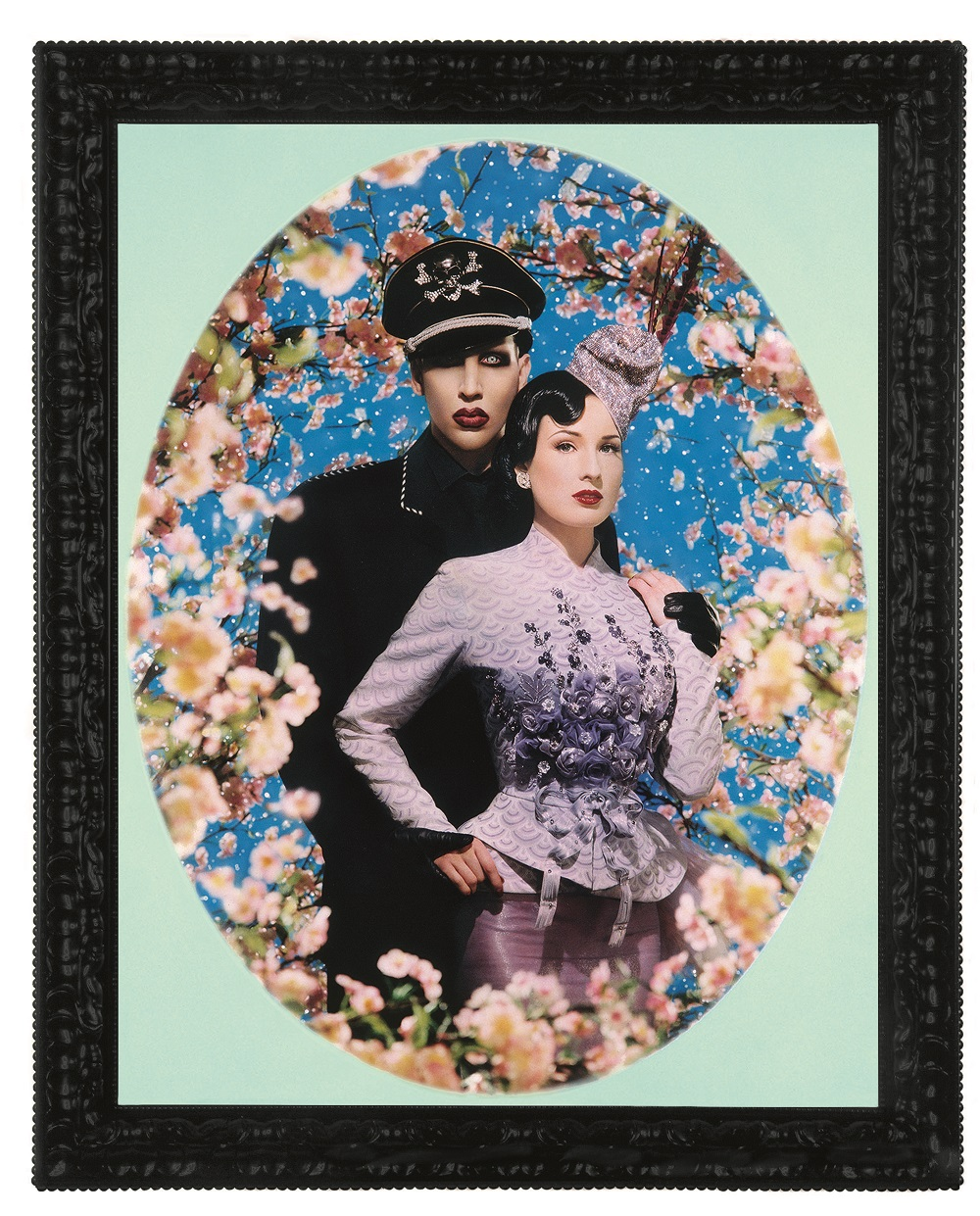 Le Grand Amour, Marilyn Manson et Dita von Teese, Pinault Collection © Pierre et Gilles, Courtesy Noirmontartproduction