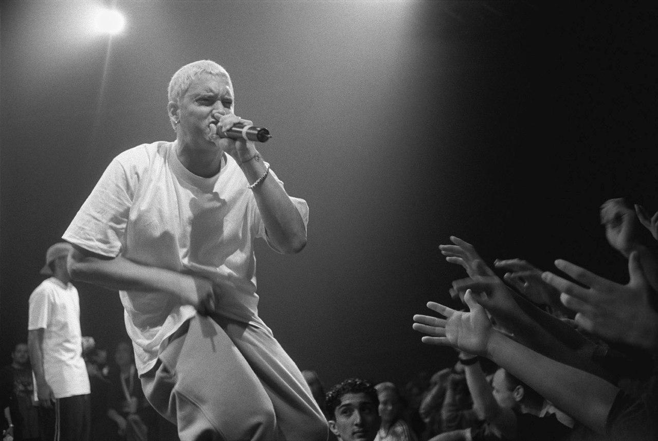 Il y a 20 ans, Eminem rentrait dans la pop culture à la sulfateuse