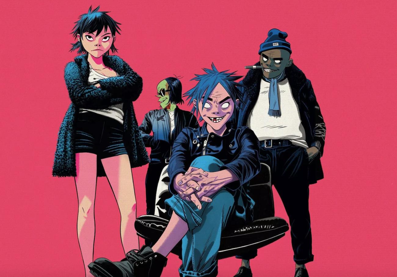 Gorillaz célèbre ses 20 ans de carrière avec une bande dessinée