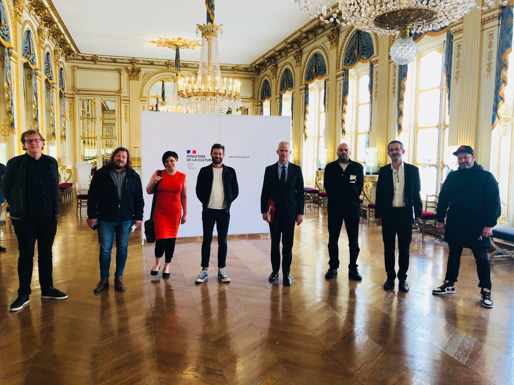 Retour de la fête en France : le ministre de la Culture a rencontré des acteurs du milieu