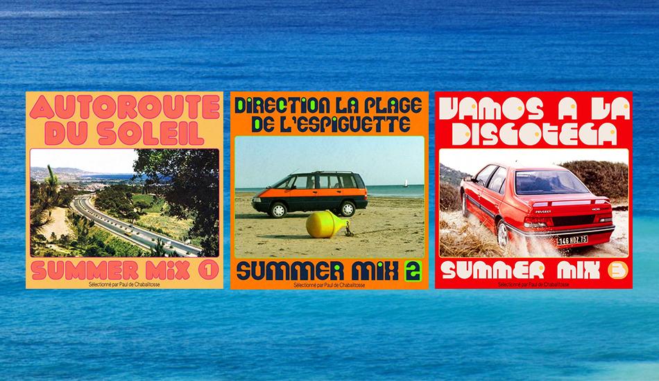Kraftwerk et variétoche italienne... 3h de mix qui sentent bon les vacances d'été
