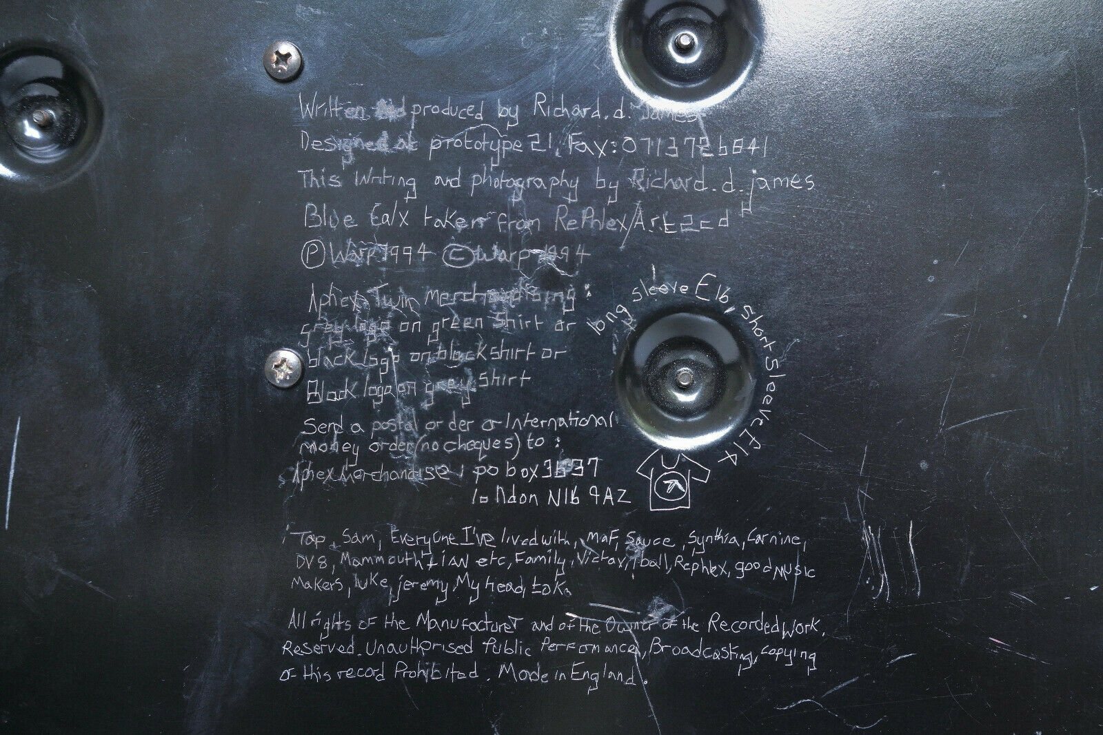 Yamaha CS5 Aphex Twin