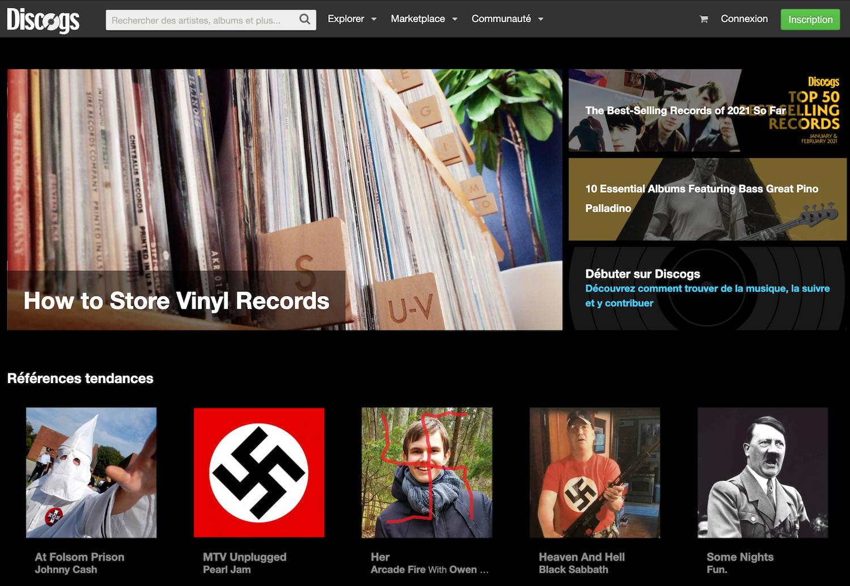 Discogs a été hacké par des néonazis