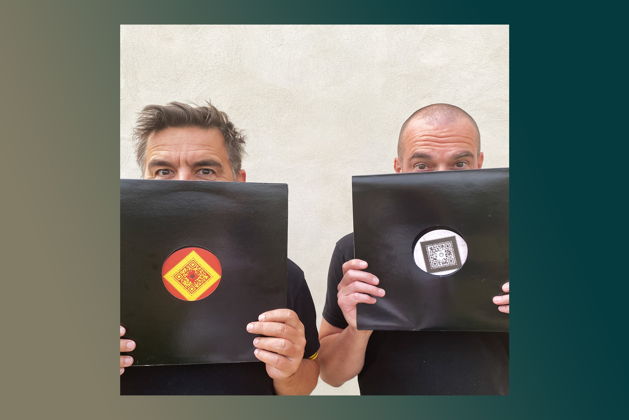 🤯 C'était bien Laurent Garnier et Scan X qui se cachaient derrière l'énigmatique label COD3 QR